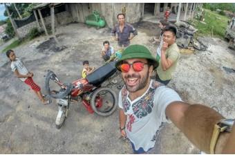 Problemi di viaggio. La storia di Daniel Mazza e la sua moto in Vietnam